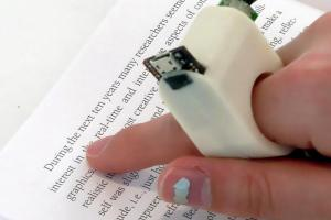 Finger reader MIT